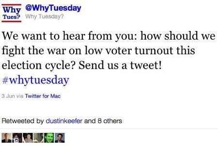 @WhyTuesday Tweet