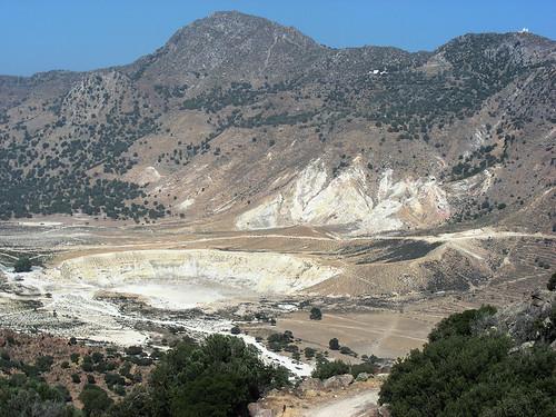 Ostrov Nisyros aneb Kde Řekové žijí v sopce