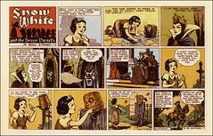 1937 Snow White Comic Strip (Filmic Light) Tags: comics disney animation snowwhite 1937 sevendwarfs hankporter