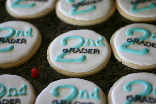 2nd grader cookies