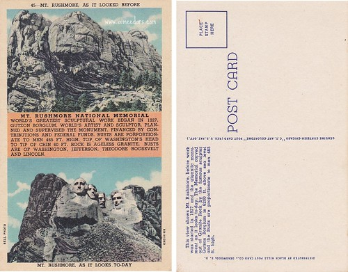 Mount Rushmore (Linen - Uncirculated)