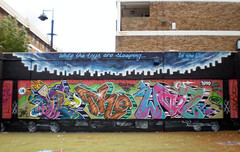 Iz The Wiz - Ante, Steam 156, Astek (Low Tech) Tags: newyork london rip hiphop legend ltd oldskool tmb stockwell tnb izthewiz subwayart astek steam156