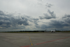 welcome (Daniel Kulinski) Tags: city urban plane airplane town fly airport image 10 aircraft evil samsung poland communication ten warsaw spotting nx spotter samsungimaging nx10 samsungnx10 gettypoland1 gettycentraleurope