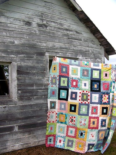 Quilt at the Farm by Life on the Selvage Edge