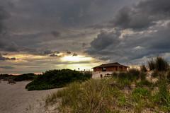 Captree Sunset (Bill McBride Photography) Tags: park sunset sky ny newyork june clouds canon landscape eos rebel li sand state dune longisland hdr 1022 xsi 2011 captree photomatix efs1022 450d canon450d canonxsi captreepark