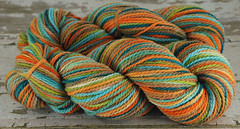 """Tidal Pool"" 8.35oz Mtn Meadow Wool"