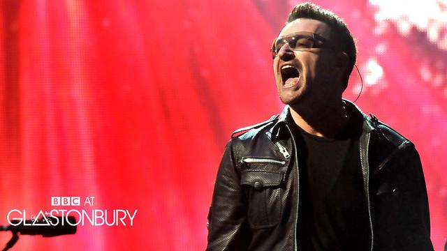 U2 at Glastonbury 2011
