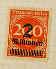 20110627 Now that is inflation! (Degilbo on flickr) Tags: brisbane queensland postage inflation canonef50mm18 hyperinflation millionen reichsmark weimarrepublic canoneos500d lightroom3 365178 germanstamps pjj365 mosjun11