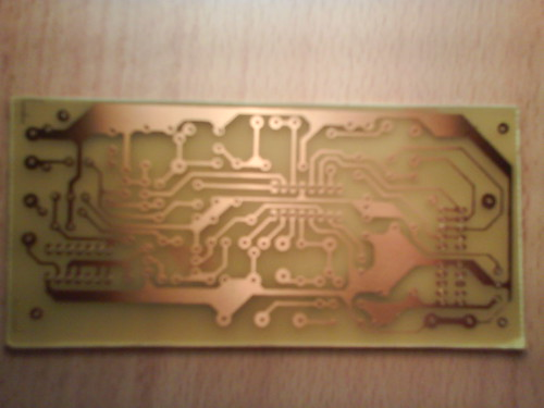 Homemade PCB