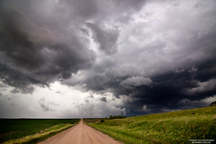 Road into Clouds I (ryanmcginnisphoto) Tags: road storm clouds outside dirt chase getty leading webres mcginnis