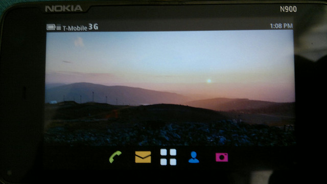 I have Meego 1.2 community release dual booting on my Nokia N900. 1st thing I did was take photos. #Meego