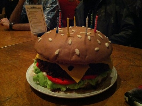the best homemade birthday cake I have ever seen