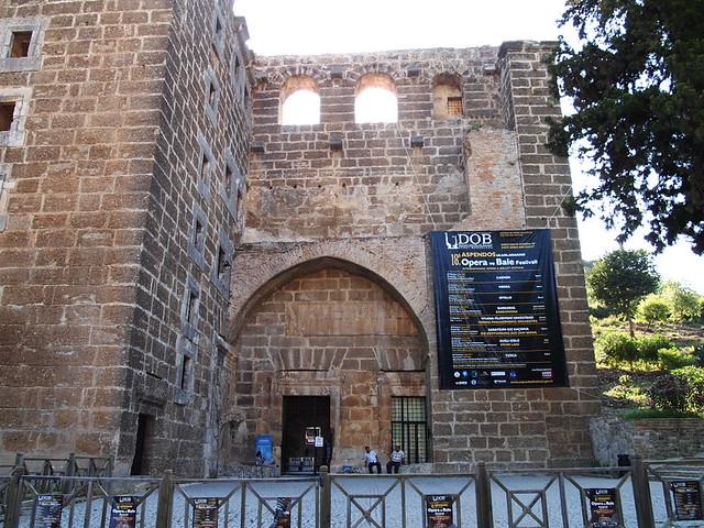 Aspendos劇院大門