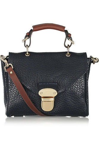 mulberry polly push lock small front