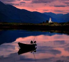 Light is the House (BoboftheGlen) Tags: lighthouse skye scotland boat cross sound isle eilean camus sleat ornsay sionnach