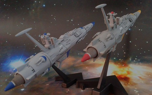 Space Battleship Yamato - EDF Escort Crusier - Completed - 2