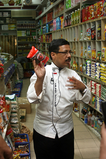 Chef Sovani describes the health and medicinal benefits of various spices