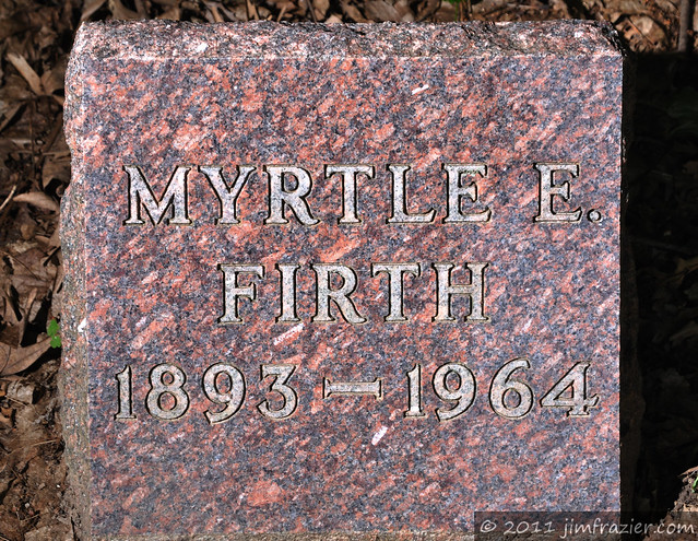 Myrtle E. Firth 1893 - 1964