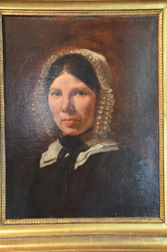 Portrait de Jenny Le Guilloux - Delacroix