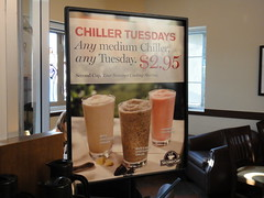Second Cup - Chiller Tuesday Deal