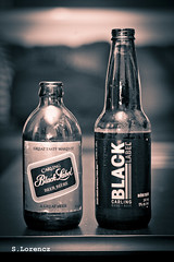 Generations (Lorencz Photography) Tags: ontario canada black london beer barley bottle thomas antique wheat retro advertisement coors blacklabel stubby beerbottle molson hops carling fabel canadianbeer carlings stubbybottle mabelblacklabel