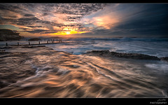 Mahon Motion (Jay Daley) Tags: ocean seascape sunrise nikon waves sydney australia wash nsw swell maroubra d800 1635 oceanpool mahonpool