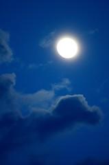 Super Moon Eve (Otaka*) Tags: blue moon clouds dark nikon may super luna full 70300mm vr 2012 d7000