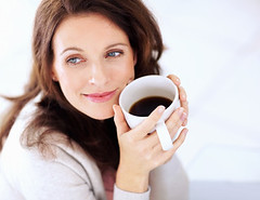 Happy woman having coffee looking away in thought (ORGANO GOLD CLUB) Tags: portrait people woman white house cute home cup coffee beautiful beauty smile smiling modern female hair relax fun denmark happy person living model women pretty thought day looking adult natural bright tea drink sweet expression background think beverage drinking lifestyle fresh dreaming mature thinking leisure aged brunette lovely middle contemplation refreshment
