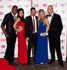 Peter Andre and Guests 'Fake Bake' celebrity ball at the Radisson hotel - Arrivals Glasgow, Scotland