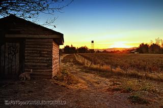 Atardecer en el valle (HDR) - Valle de Colchagua (Chile)[Explore #26 2012-05-21]