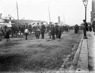 Soldiers Going Away I