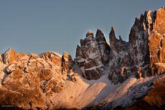 Rosengarten sunrise - Torri del Vaiolet (Photoskatto) Tags: mountain alps montagne landscapes alpi dolomiti dolomiten theauthorsplaza