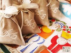 """Wedding Confetti's bag - Sacchetti porta confetti matrimonio - Mod: """"P"""