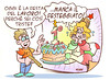 """Primo Maggio 2014 (Moise-Creativo Galattico) Tags: vignette satira attualità lavoro moise giornalismo primomaggio lavoratori disoccupazione precariato editoriali moiseditoriali """"editorialiafumetti"""""""
