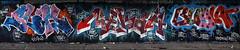 Slam / Nekah / Burglar (Alex Ellison) Tags: urban berg graffiti slam boobs panoramic graff burg burglar northlondon tbf neka mhb 1t nekah neks dfn thebufffails
