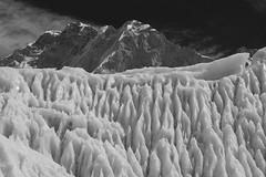 Giger's dream (Alex Dram) Tags: nepal trekking rip glacier khumbu himalayas giger icefall everestbasecamp 5364 changtse khumbutse lingtren alexdram nx1100