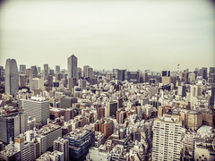 Tokyo ([eyewitness]) Tags: city urban streets japan architecture vintage lumix tokyo cityscape view metropolis tokio 2014 panasonicdmcfz200