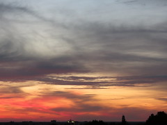0701129 Abendrot (golli43) Tags: sunset sun streets rain juni sunrise heaven himmel wolken neighbours sonne nachbarn homesweethome regen spaziergänge berlinmitte streetlive spargelzeit
