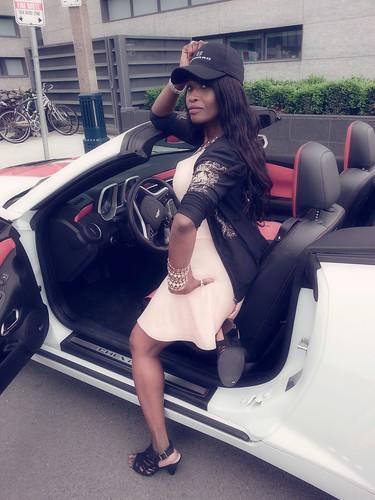 Chevrolet Camaro Ride Queen Sabine Mondestin