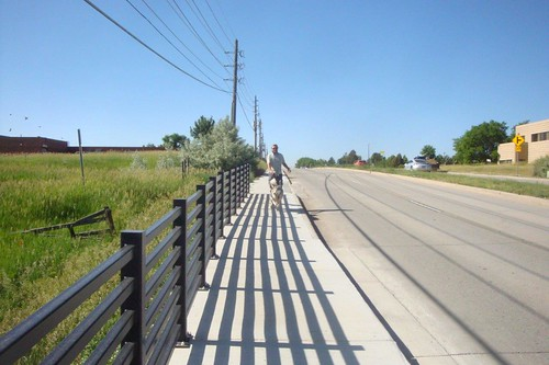 Photo - Pedestrian Enhancements: 63rd Street Missing Sidewalk Link
