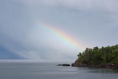 Grand Marais (marmotfotos) Tags: rainbow lakesuperior