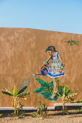 Regando las plantas (29/365) (pedrobueno_cruz) Tags: ensenada street photography photographer sky blue nikon d7200 explored landscape 365 challenge tree green painting day sun sunset