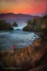 Lovers (taken on iPhone 6+) (Laura Macky) Tags: sutrobath goldengate sanfrancisco art fineart landscape painterly