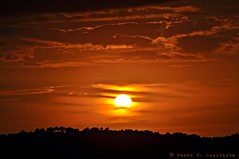 Sabadell, 27 setembre 2016, 19:29 (Perikolo) Tags: sol sun posta puesta atardecer capvespre sunset nvols nubes clouds sabadell