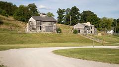 Log Cabin Village (Nicholas Eckhart) Tags: america us usa 2016 retail stores bobevans bobevansfarm farm ohio oh riogrande adamsville village recreation