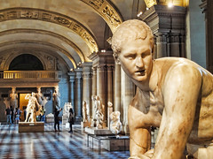 Louvre, Paris... (williamcho) Tags: old sculpture paris france art museum digital vintage display collection artists historical editing masterpiece topazlabadjust williamcho sonydscwx1 patrickcheah thelouvremuseumlouvre