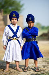 Young Lions (gurbir singh brar) Tags: two boys traditional sikhs punjab punjabi turbans youngsters khalsa twoboys