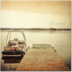 *Preset Sooo much vintage* (in eva vae) Tags: pink lake art yellow vintage landscape pier boat eva squared textured lightroom wow1 preset inevavae mygearandme