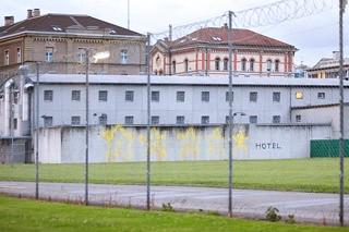 Graffiti Gefängnis Zürich