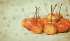 Mini manzanas de bonsai ... (Maril Irimia) Tags: stilllife apple fruit nikon fruta textures bodegn texturas softtones applemini tonospastel minimanzanas tonossuaves marilirimia marilirimiafotografa manzanasdebonsai